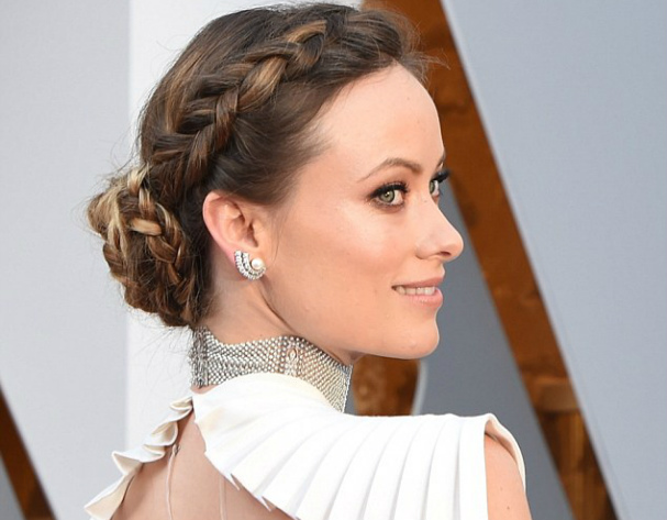 Olivia Wilde braid hairstyle