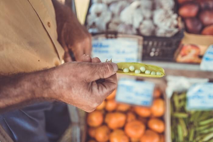 Peas veggie week