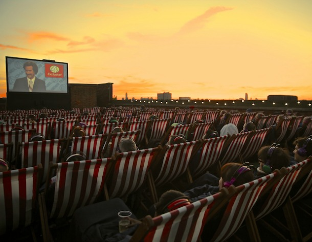 Best outdoor cinemas in London