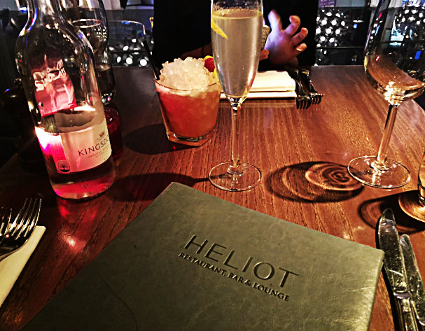Heliot Steak House & Bar, London