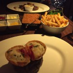 The Heliot steak and lobster