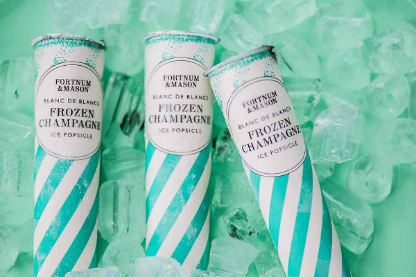 Frozen Champagne lolly