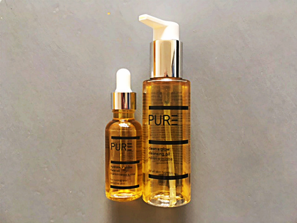 PURE skincare facial oil