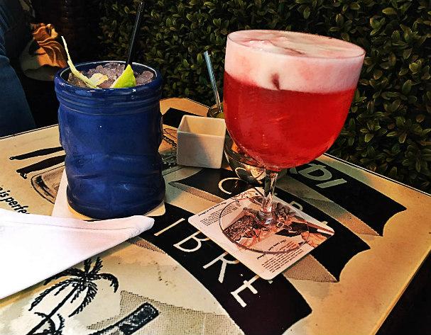 The Rib Room bacardi cocktails