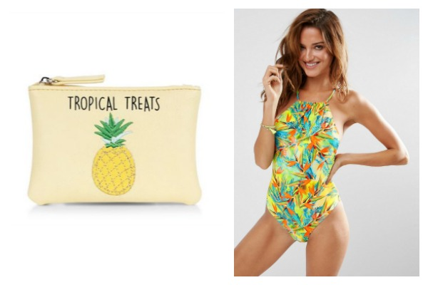 Tropical style accessories