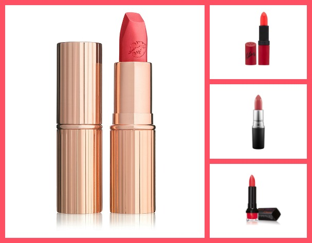 Budget vs Blowout: Coral Lipstick