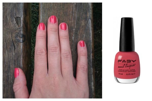 Faby summer nail edit colour