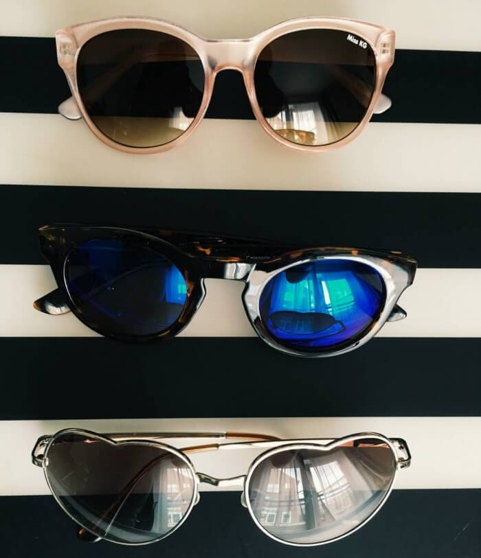 Fun colourful sunglasses