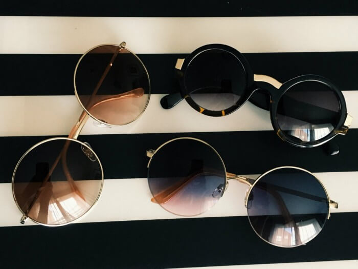 Rounded sunglasses edit