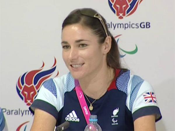 Dame Sarah Storey Paralympics