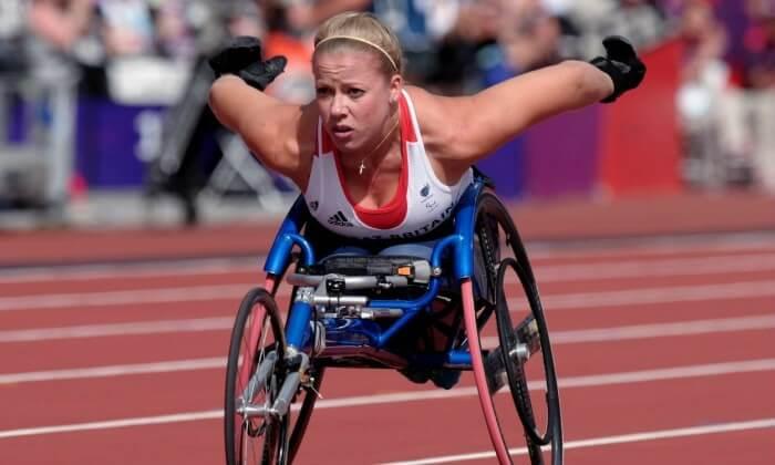 Hannah Cockcroft Paralympian