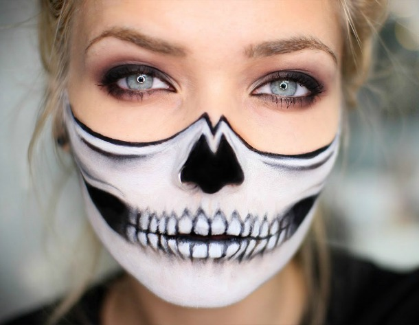 Halloween makeup inspo average janes blog - Pinturas para halloween ...