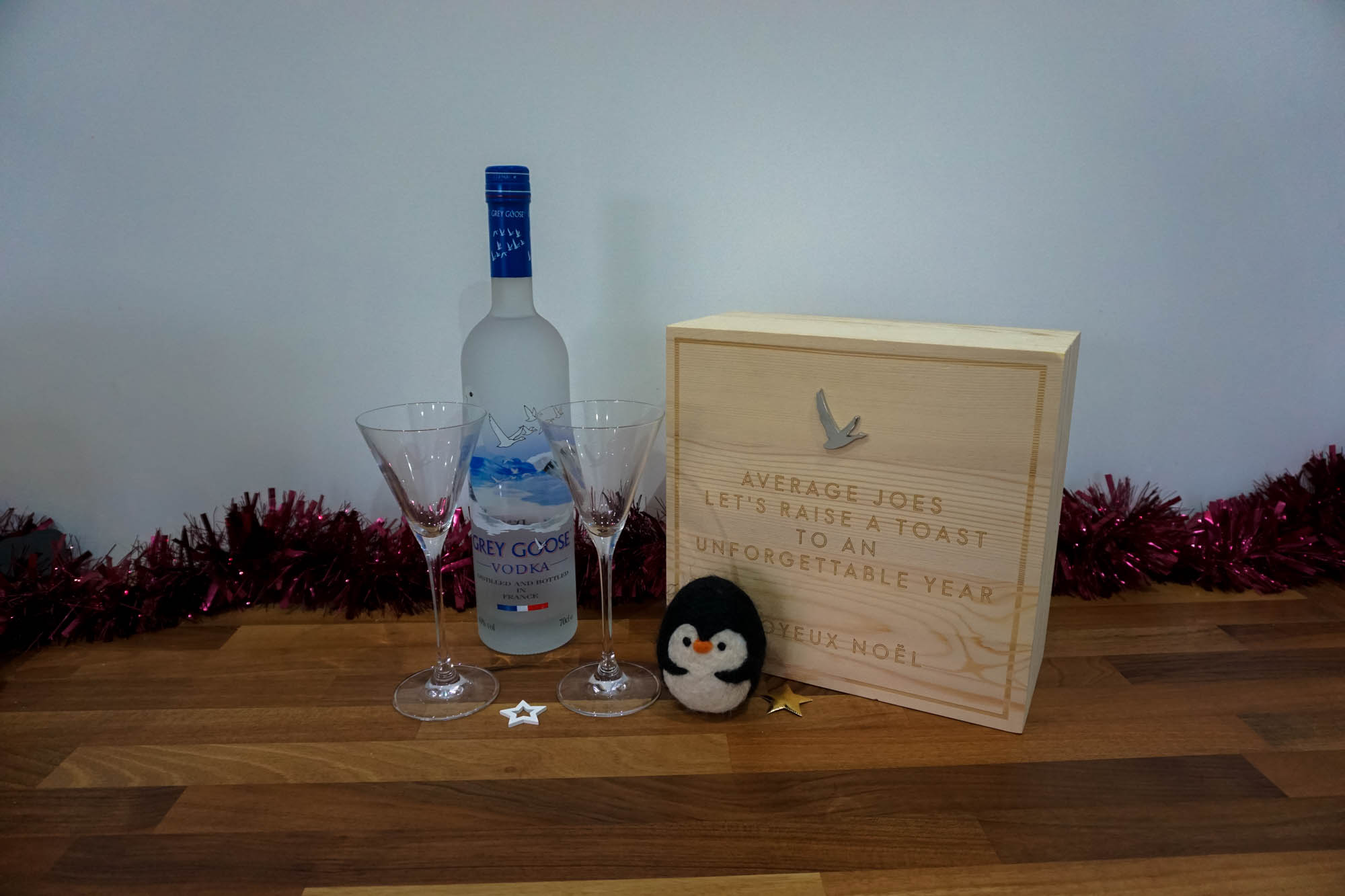 Grey Goose Personalised Christmas Box