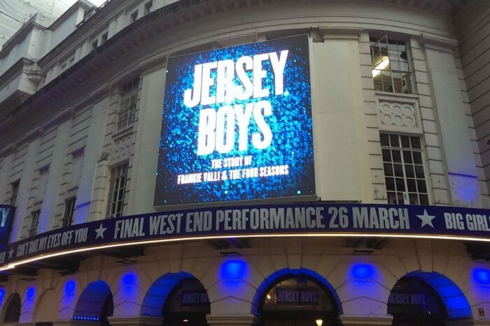 Jersey Boys West End Show