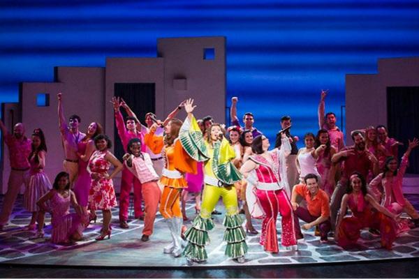 Mamma Mia West End show
