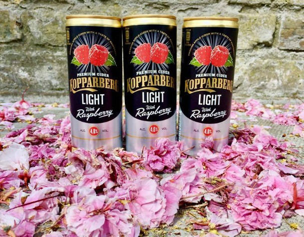 Summer drinks: Kopparberg's Raspberry Light Cider