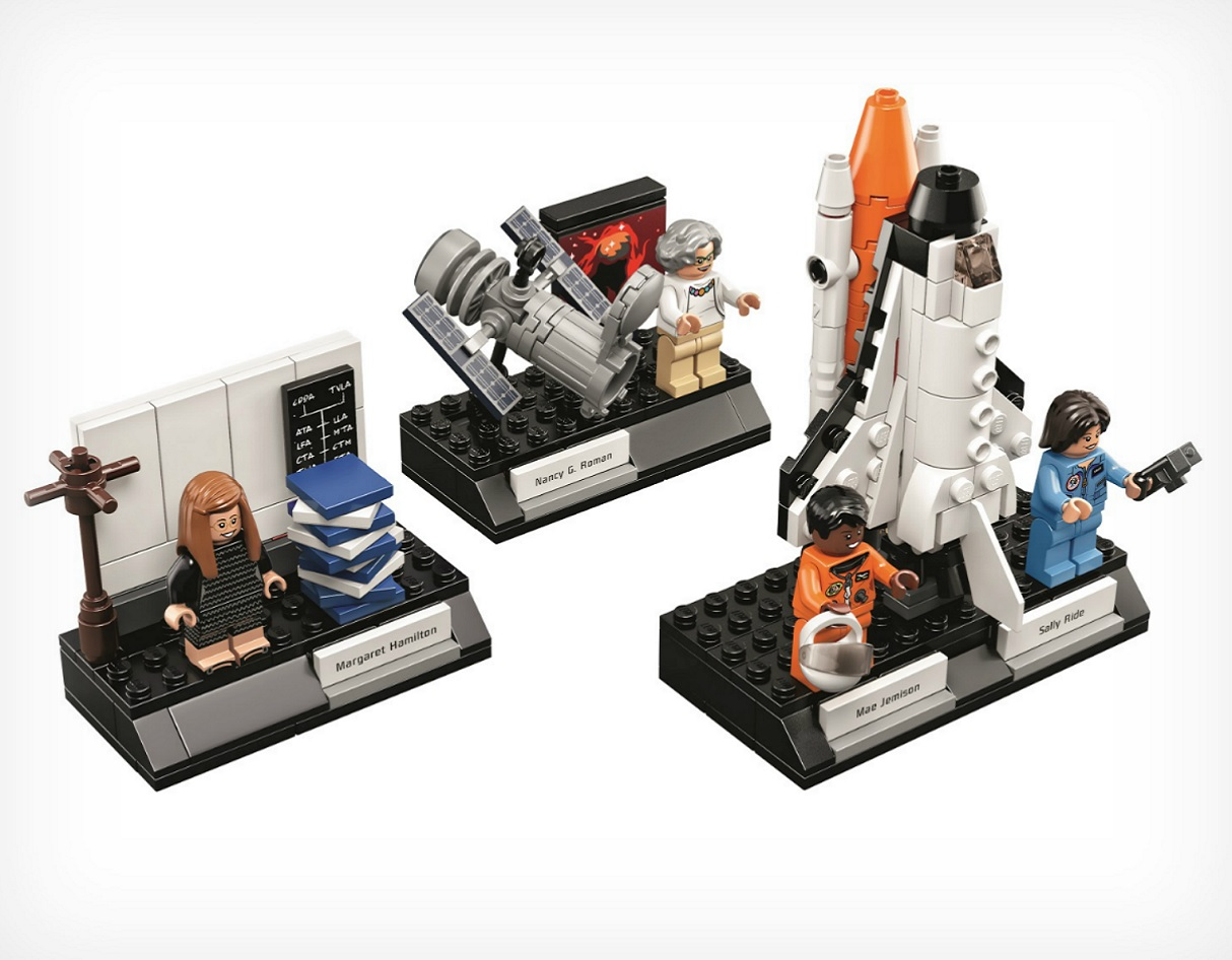 LEGO Announce a 'Women of NASA' Set