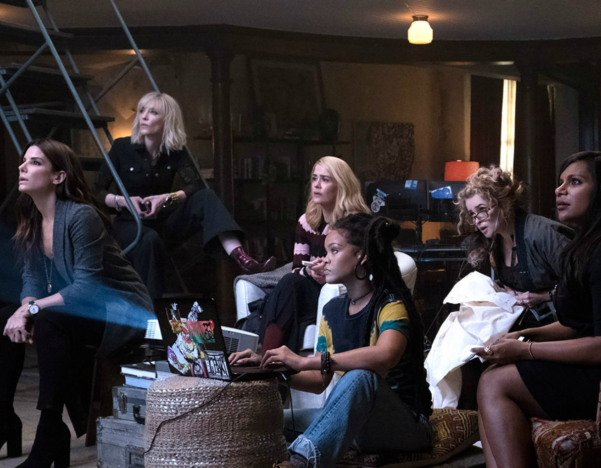 Sandra Bullock Stars in the First Ocean's 8 Film Trailer