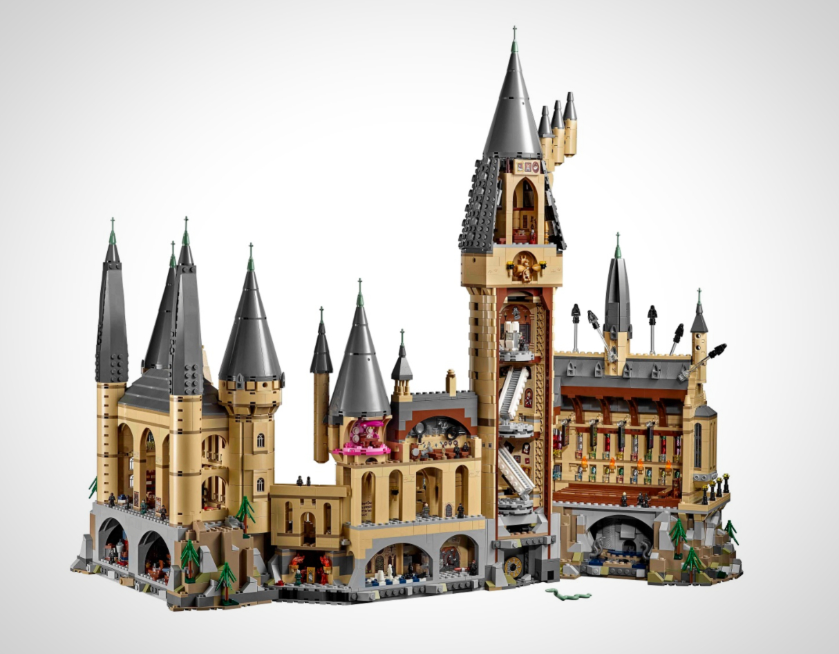 LEGO Announce Incredibly Detailed New Harry Potter Hogwarts Castle